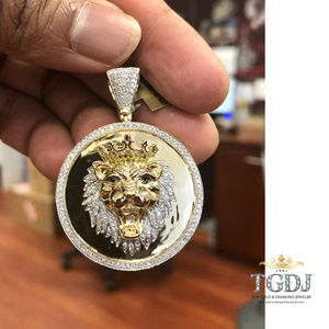 Height 12 MM Width 11 MM TGDJ 14K Yellow Gold Baby Bear Pendant-